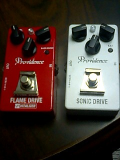providence SONIC DRIVE, FLAME DRIVE