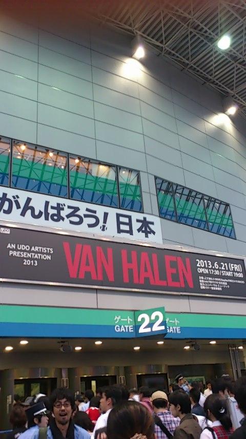 VAN HALEN東京ドーム公演